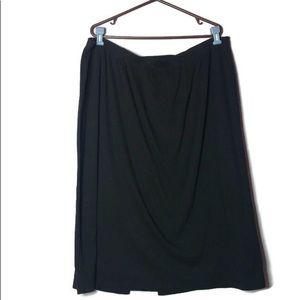 Black Avenue Maxi Skirt